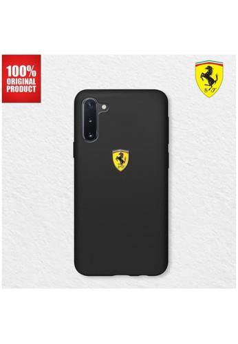 Ferrari black FERRARI - Case Samsung galaxy Note 10 Plus On Track SF Silicone Black 64CE0ES4F990ECGS_1