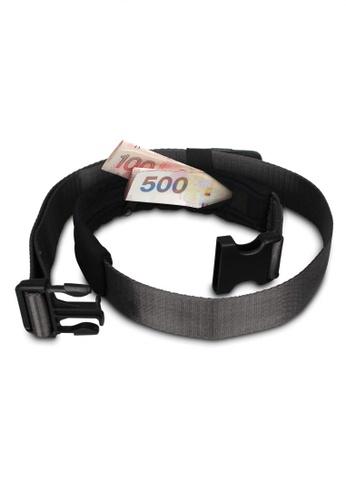 Pacsafe black Pacsafe Cashsafe 25 Travel Belt Wallet (Black) 0135AAC3786448GS_1