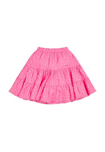 Mothercare pink pink floral tiered skirt D3F1EKAD9055D6GS_1