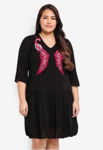 Junarose black Plus Size Maike Dress 61795AA662569AGS_1