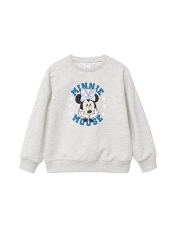MANGO KIDS grey Minnie Mouse Sweatshirt D5549KA781B8FAGS_1
