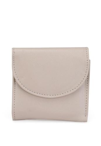 LC Waikiki beige Leather Look Flap Women's Wallet F16F3AC73E6FE3GS_1