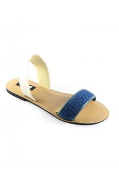 Habi Footwear Luxe Women's Joy Sandals - Blue/White