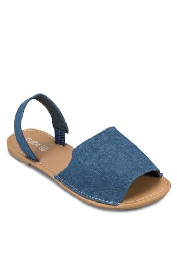 Margarita 寬帶繞踝涼鞋, 女鞋,esprit衣服目錄 鞋