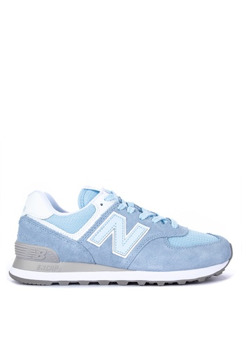 38f5244a2be Shop New Balance 574 Classic Suede Mesh Lifestyle Sneakers Online on ZALORA  Philippines