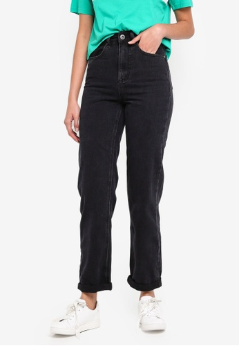 Factorie black Relaxed Mom Jeans E1799AA21EB121GS_1