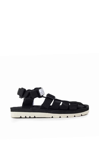 Navara black Woodley Black EVA Sandals E15BBSHD518E7DGS_1