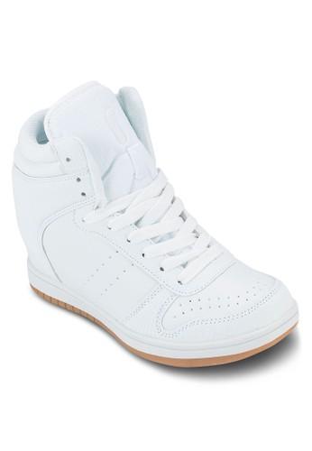Hyde 混合材質esprit 見工內增高運動鞋, 女鞋, 鞋