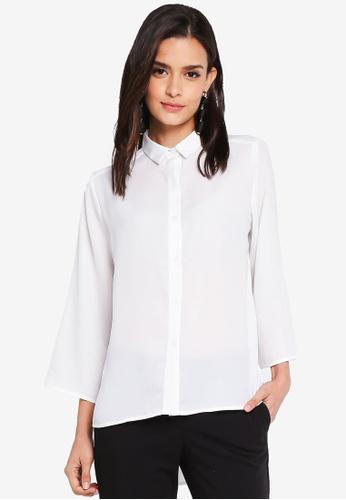 Zalia white Button Down Shirt 30C1FAAC83E761GS_1