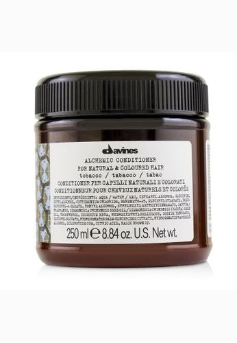 Davines DAVINES - Alchemic Conditioner - # Tobacco (For Natural & Coloured Hair) 250ml/8.84oz 58AEBBE3493413GS_1