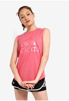 47eb05cec9f adidas pink adidas w id winners mt tank top 45065AA36F8073GS_1