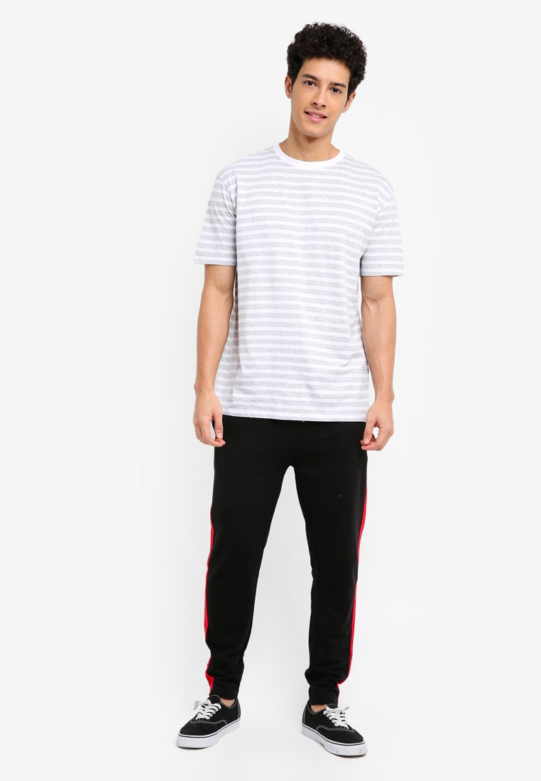 Stripe White Tee Marl Light Factorie Grey OG d7qf5nOYWd
