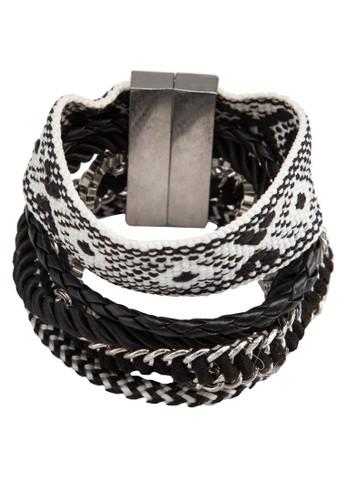 編織鍊式層次手環, 飾品配件, 手鐲 &aesprit 會員mp; 手環