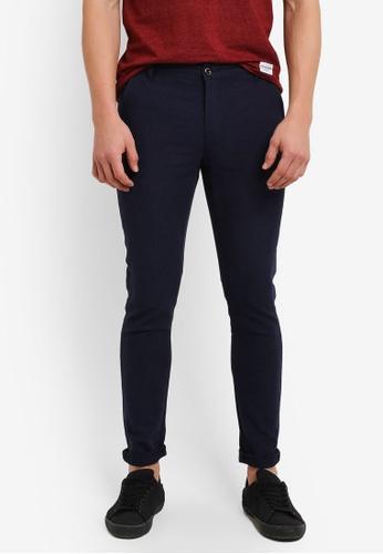High Cultured navy Casual Long Pants HI002AA0S1V5MY_1