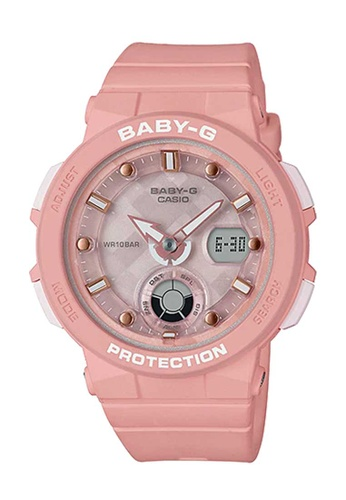 CASIO pink Casio Baby-G Salmon Pink Resin Watch 79D51ACE9E2F58GS_1