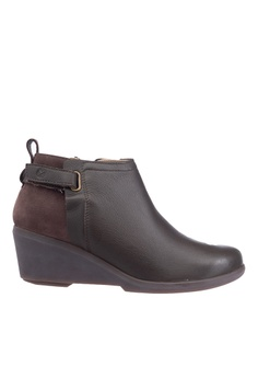 e6c9f6753fcb Hush Puppies brown Hush Puppies Women s Mariya Strap Bootie - Dark Brown  A6FD4SH196B536GS 1