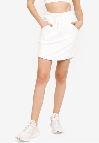ZALORA ACTIVE white Tennis Straight Skirt 0F685AA0C62117GS_1