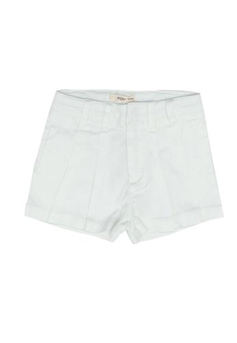 FOX Kids & Baby white Baby Girl Shorts 1363BKAEB1CAB3GS_1