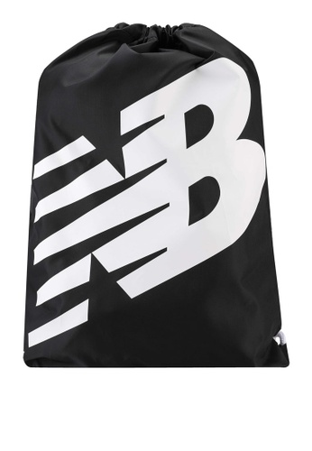 New Balance black NB Cinch Sack Bag 36B93AC3361C16GS_1