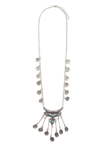 串珠及錢esprit outlet 香港幣墜飾項鍊, 飾品配件, 絕美洋裝