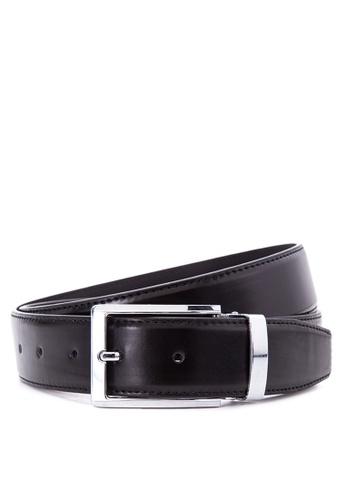 Burlington black Leather Belt BU456AC59UCYPH_1