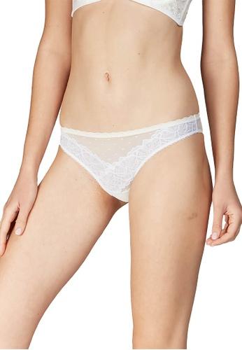 6IXTY8IGHT white RACHY SOLID, Lace Bikini Briefs PT10073 CC336US64F3B51GS_1