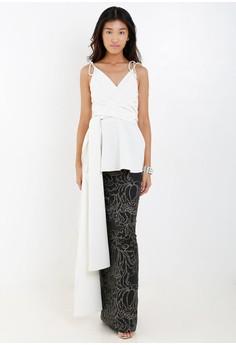 [Pre-Order] Sleeveless Top With Wrap Around Detail