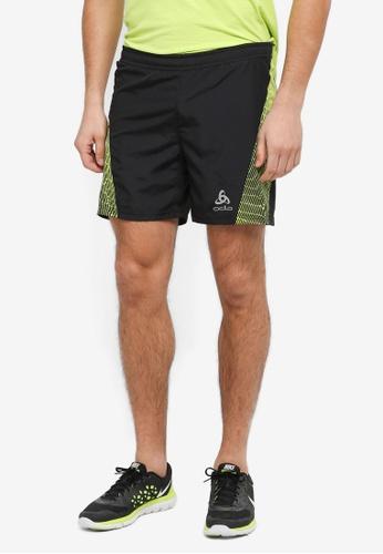 Odlo black Omnius Shorts With Inner Briefs FE3ACAA2747375GS_1