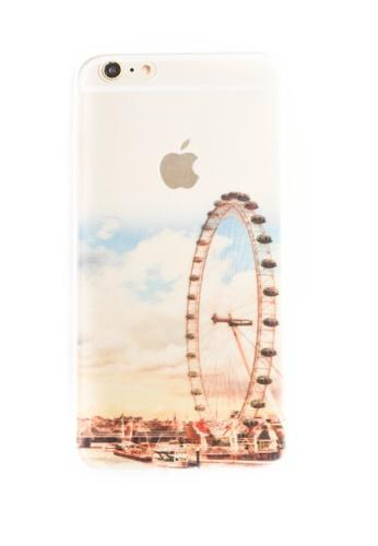 Fancy Cellphone Cases multi London Eye Soft Transparent Case for iPhone 6plus/6splus FA644AC53XXEPH_1