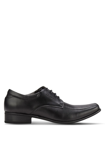 Spiffy black Business Shoes SP352SH82IOFMY_1
