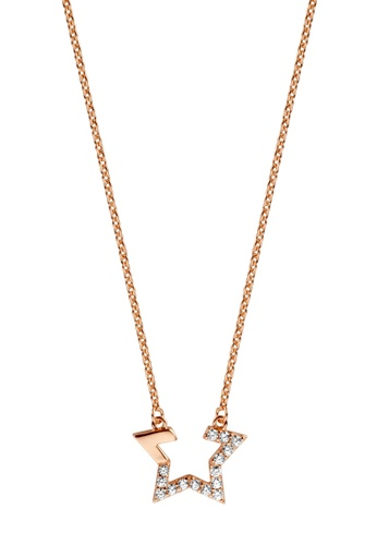 Esprit gold ESPRIT [Vivid Star] RoseGold Sterling Silver Necklace (42 cm + 3 cm extension) 372E8ACEECEED6GS_1