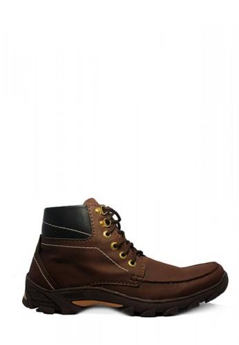 D-Island brown D-Island Shoes Boots Trackking Cowboy Dark Brown FCE9ESH9F477D1GS_1