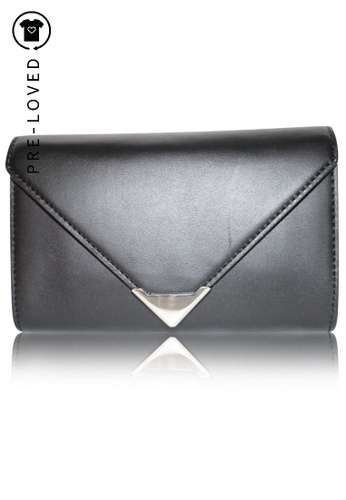 ALEXANDER WANG black Pre-Loved alexander wang Black Leather Fanny Pack F69ABAC4E6F608GS_1