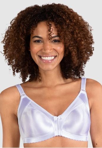 Naturana white Moulded Soft Minimiser Bra 73264USA73342AGS_1