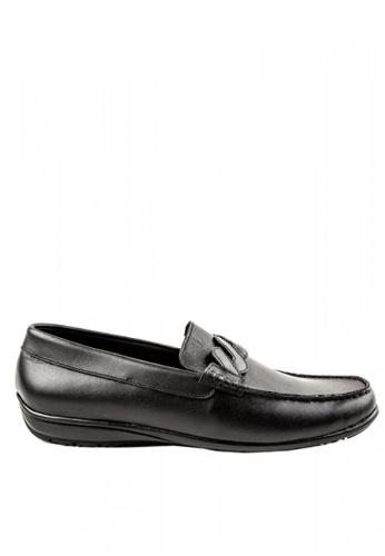 Otto black Slip-On Loafers 5DEC4SHF8F91FCGS_1