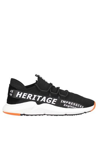 Tomaz black Tomaz C385 Casual Sneakers (Black White) C5867SHDD7B223GS_1