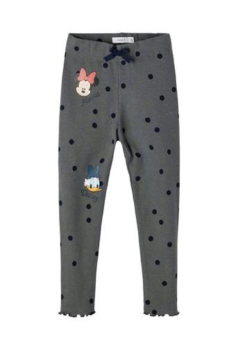 NAME IT grey Minnie Mouse Pants 629C1KAFE3B353GS_1