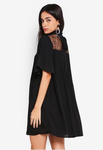 Vero Moda black Gudrun Short Dress B5078AA8A5737CGS_1