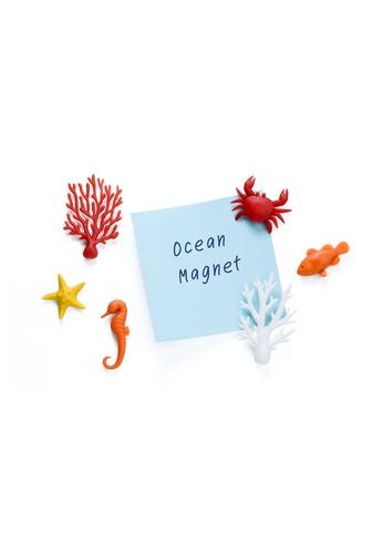Qualy Qualy Ocean Ecology Magnet Set 93451HLB99D458GS_1