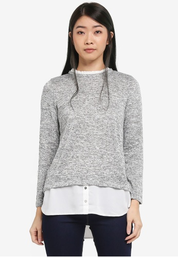 Dorothy Perkins grey Grey 2 In 1 Top 11A53AAFC07866GS_1