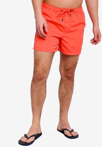 Jack & Jones orange Jjicali Swim Shorts 0CC9CAAFC2004EGS_1