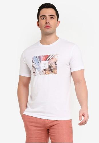 MANGO Man white Photo Print T-Shirt BC168AA6FCD336GS_1