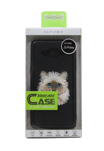 BAVIN black EMBROIDERED Cat J2 Prime Slim High Quality Case CCE9FAC62F4309GS_1