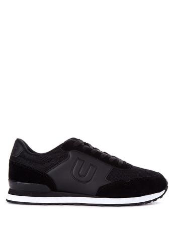 Umbro black Trafford Lace Up Sneakers UM642SH08QLVPH_1