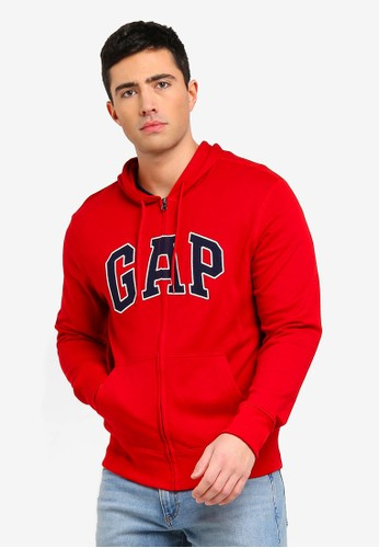 GAP red Gap Arch Hoodie 38D33AAC1C65CBGS_1