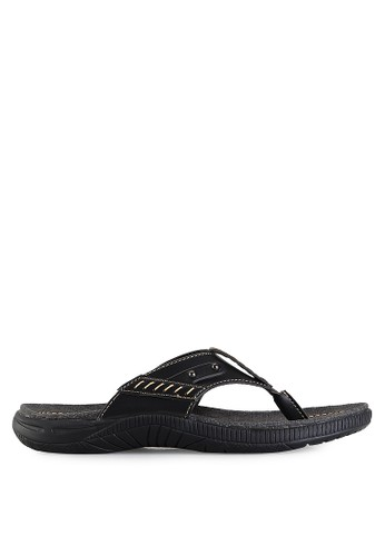 Homyped black Sigra 01 Men Sandals HO842SH39GZCID_1
