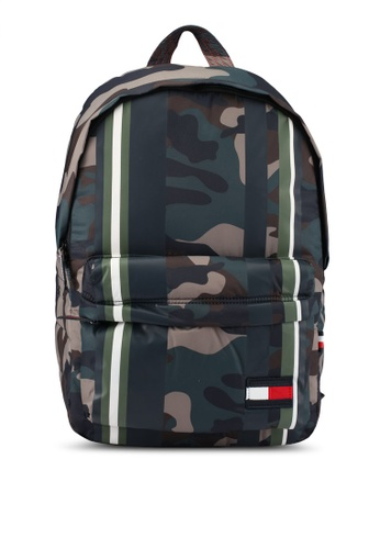 Tommy Hilfiger multi LIGHT NYLON BACKPACK CAMO STRI TO861AC0SYGVMY_1