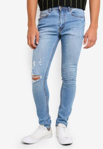 Cotton On 藍色 緊身牛仔褲 8EFC1AA2A2471CGS_1