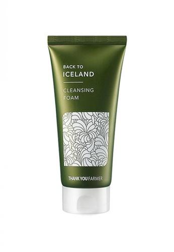 Thank You Farmer green THANK YOU FARMER Back to Iceland Cleansing Foam TH577BE19MRGMY_1