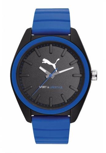 Puma blue PU911241006 Matchplay Black Blue Men Watch PU549AC0RKK7MY_1
